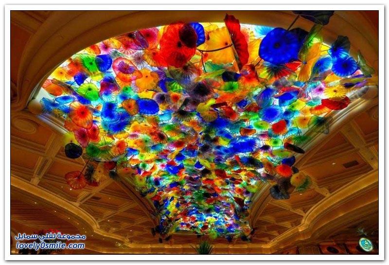 أسقف مذهلة حول العالم