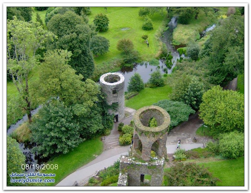 قلعة بلارني في جنوب إيرلندا