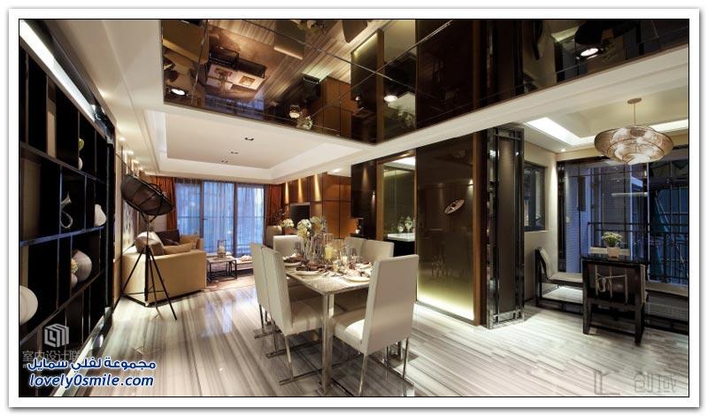 تصميم منزل على الطراز الآسيوي