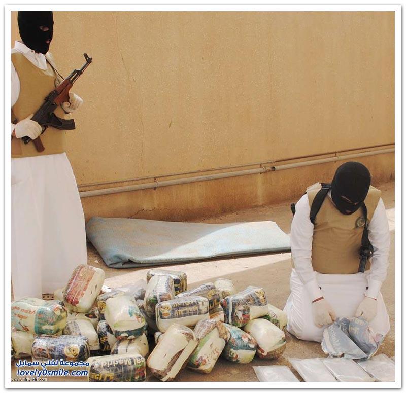 تفكيك شبكة تهريب المخدرات في السعودية