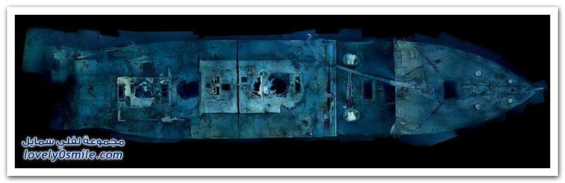 الغوص في المحيط داخل سفينة تايتانيك