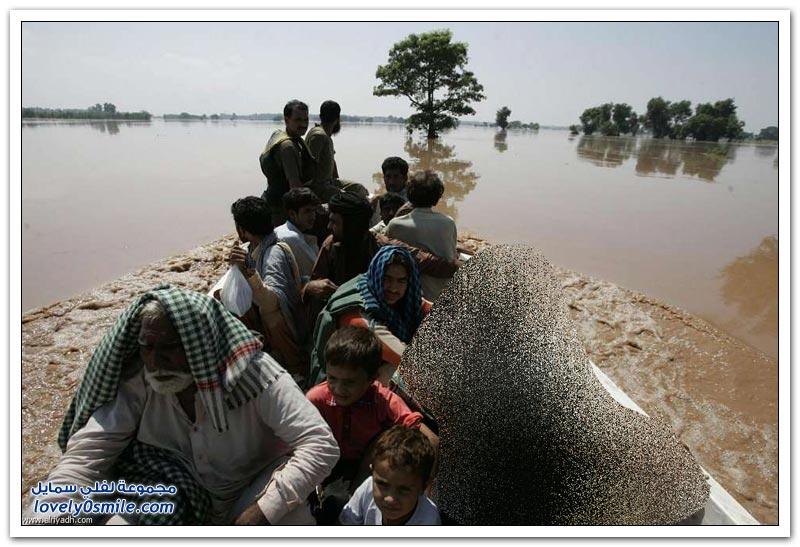 فيضانات في الهند وباكستان