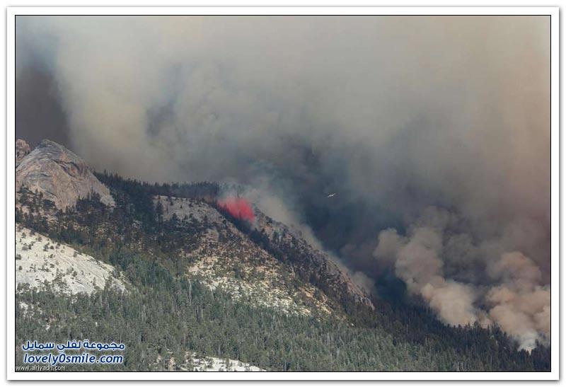 حرائق الغابات بولاية كاليفورنيا