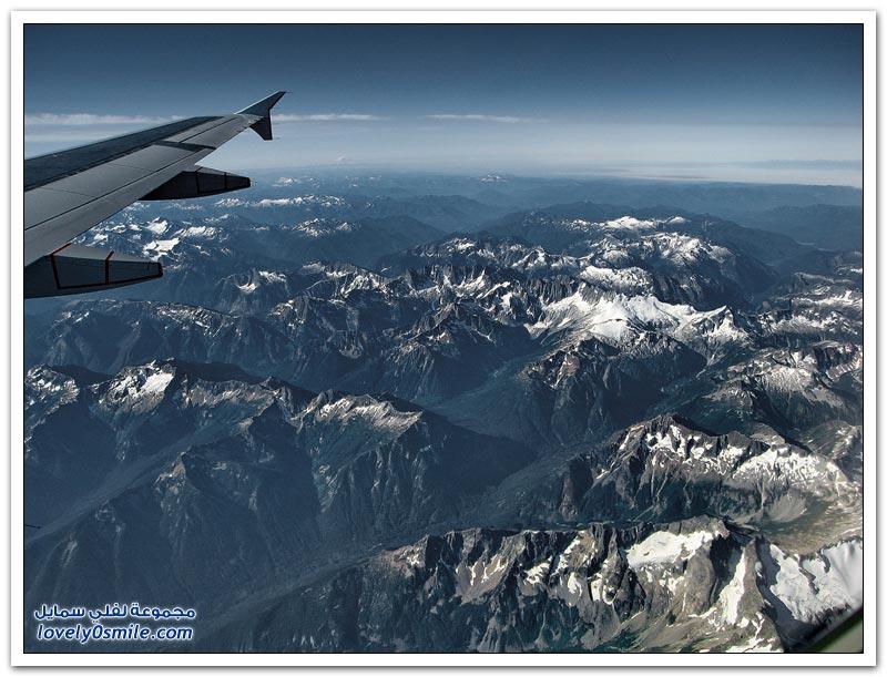 صور رائعة من الطائرة لبعض دول العالم