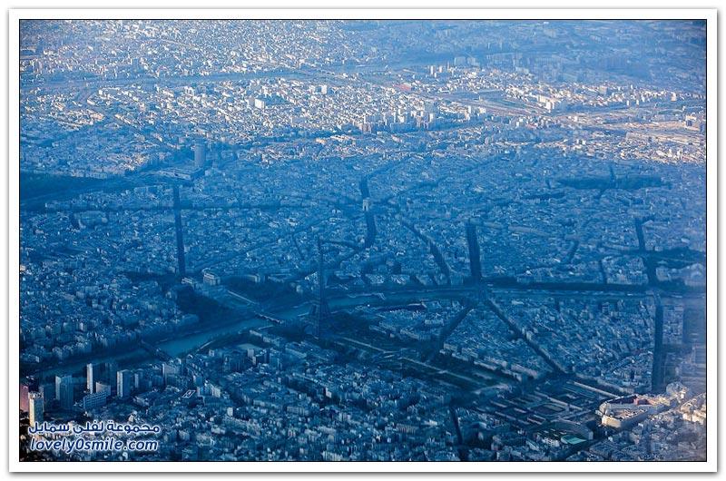 مناظر رائعة من الأعلى لفرنسا