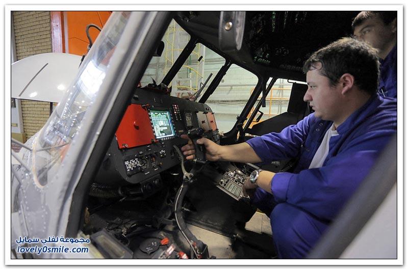 مصنع الطائرات المروحية في قازان