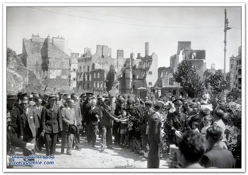 صور تاريخية لفترة ما بعد الحرب العالمية الثانية