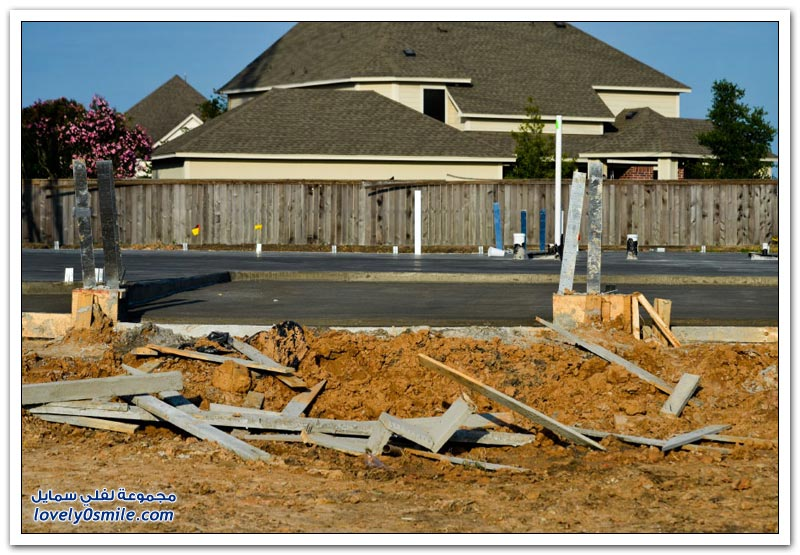 كيفية بناء المنازل في جنوب الولايات المتحدة؟