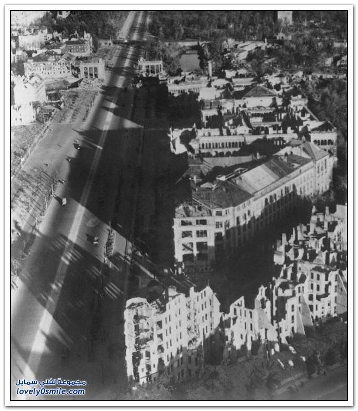 صورة لمدينة برلين بعد الحرب العالمية الثانية