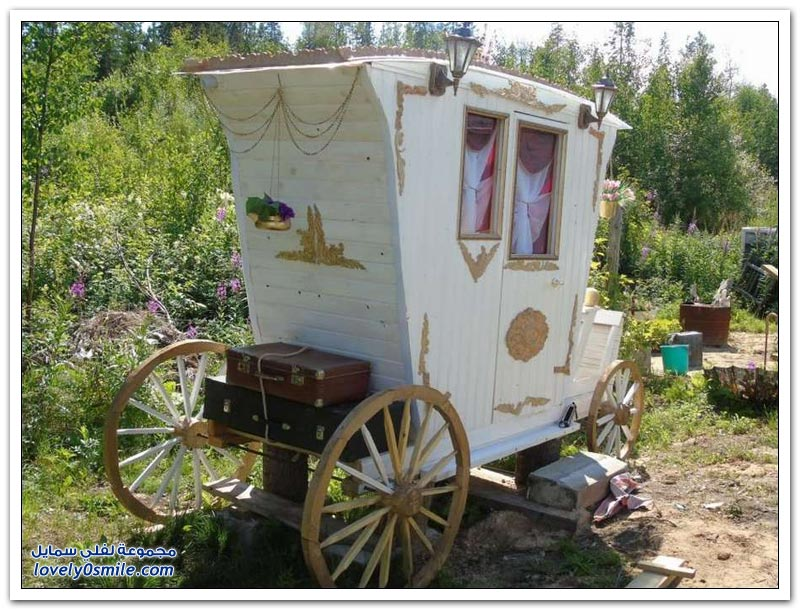 صناعة حَمّام في عربة