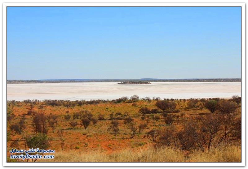 بحيرة أماديوس في أستراليا