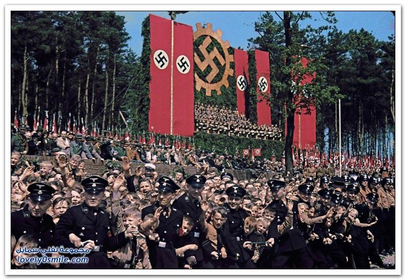 الحياة في ألمانيا أيام هتلر بالألوان