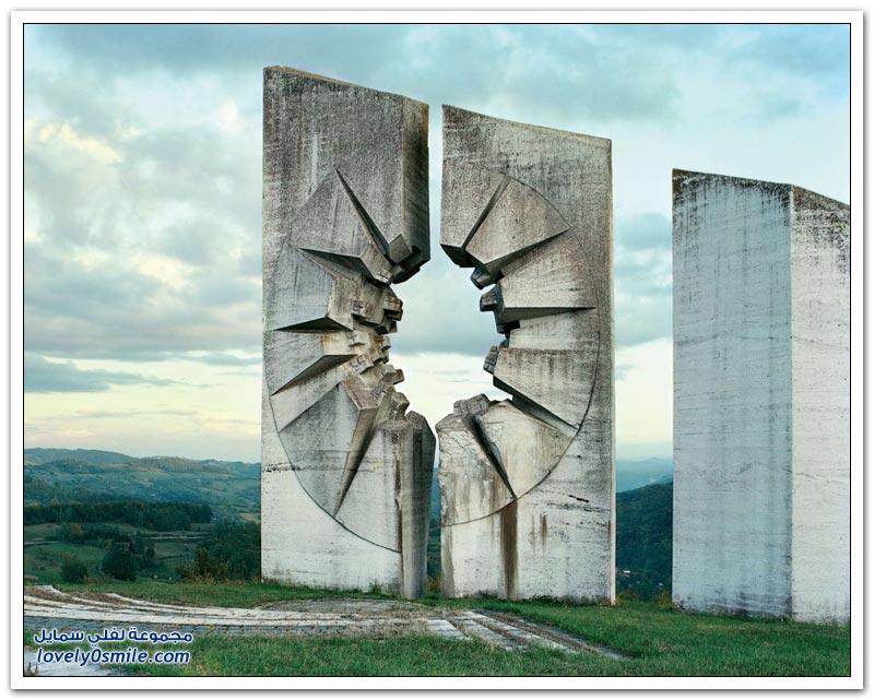 النصب التذكارية في يوغوسلافيا