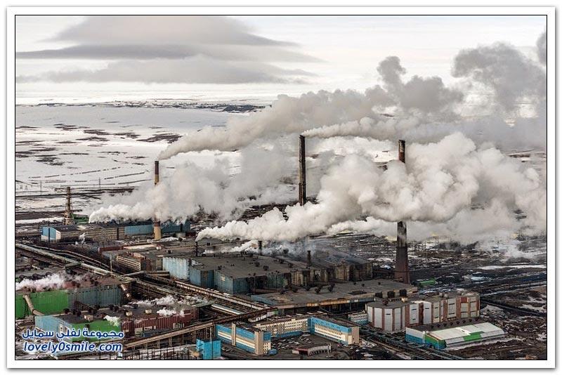 نوريلسك أكثر المدن الصناعية كآبة في العالم