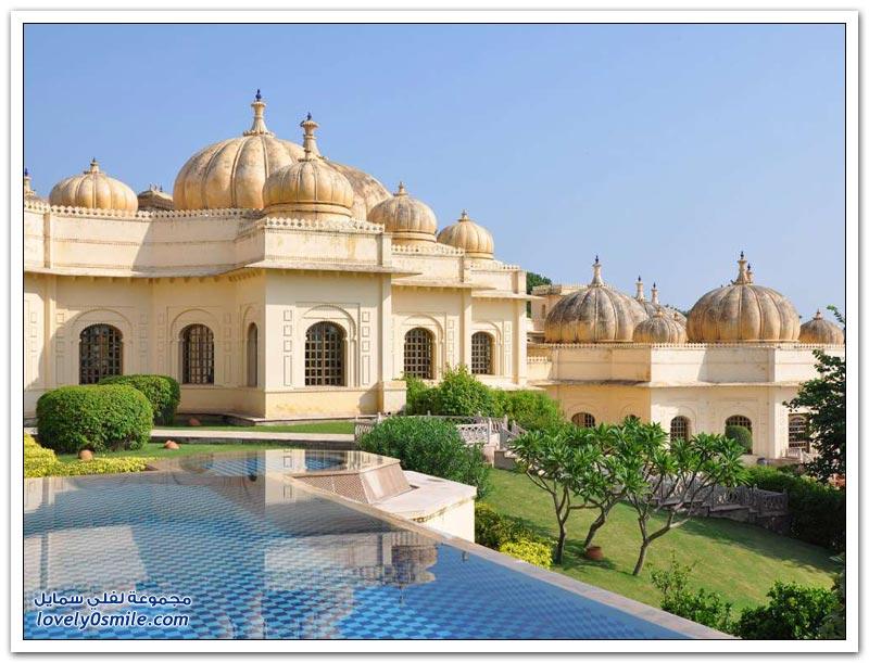 من أفخم الفنادق في الهند