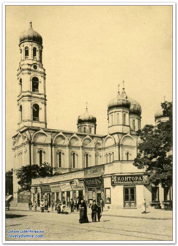مدينة أوديسا الأوكرانية بين الماضي والحاضر