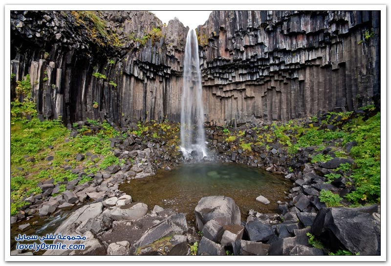 من أجمل الشلالات في إيسلندا