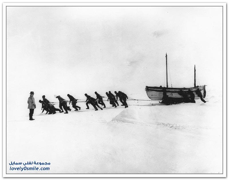 الصور الأكثر إثارة للإعجاب من القارة القطبية الجنوبية في بداية القرن العشرين
