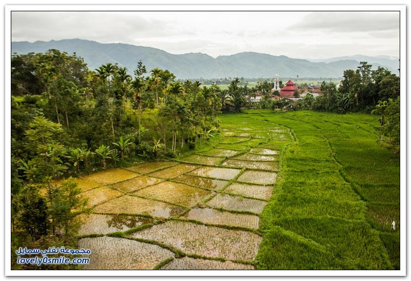 صور لمناظر طبيعية رائعة من أندونيسيا