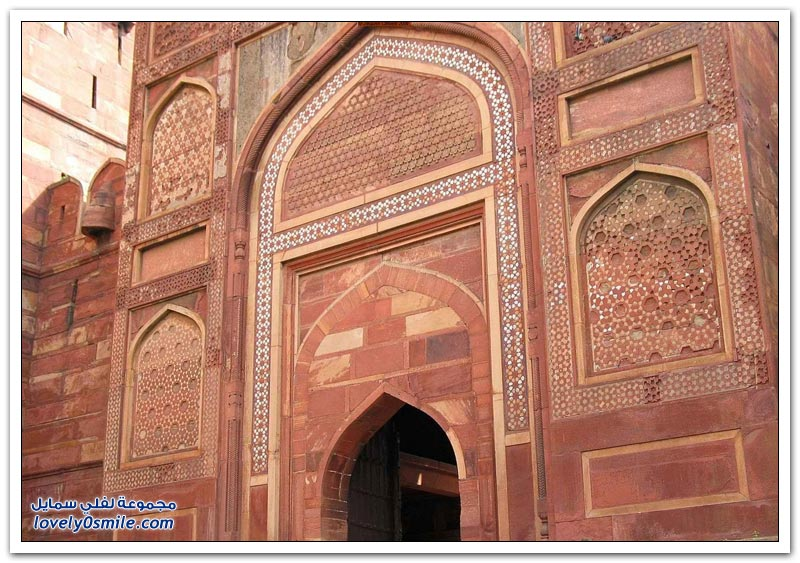 القلعة الحمراء في الهند