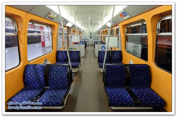 مقاعد مترو الأنفاق حول العالم