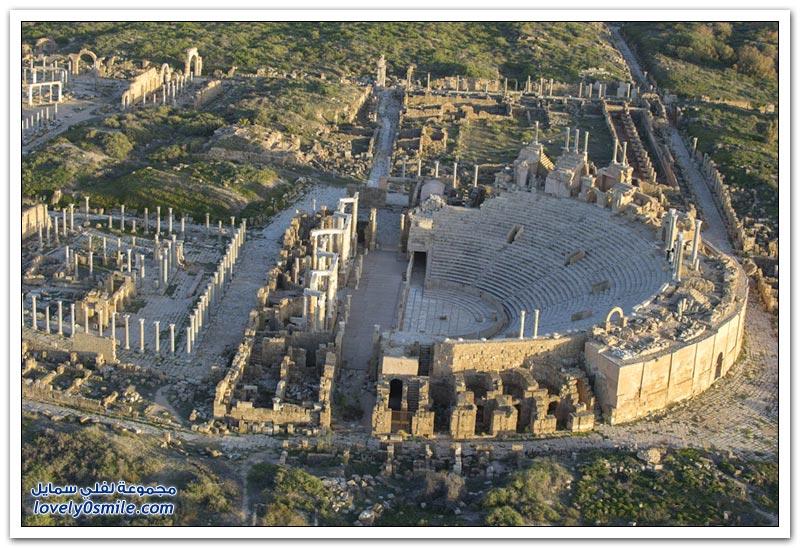 روعة سواحل ليبيا والآثار التاريخية