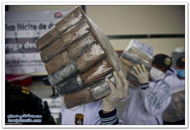 أطنان كوكايين في شحنة فحم