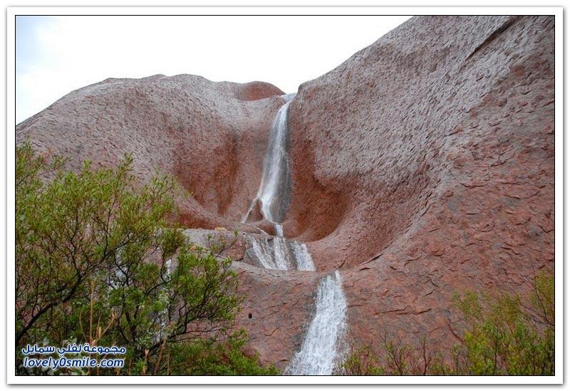 شلالات أولورو مشهد طبيعي نادر