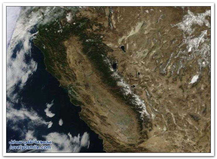 صور لنفس المكان في كاليفورنيا قبل كارثة الجفاف وبعدها