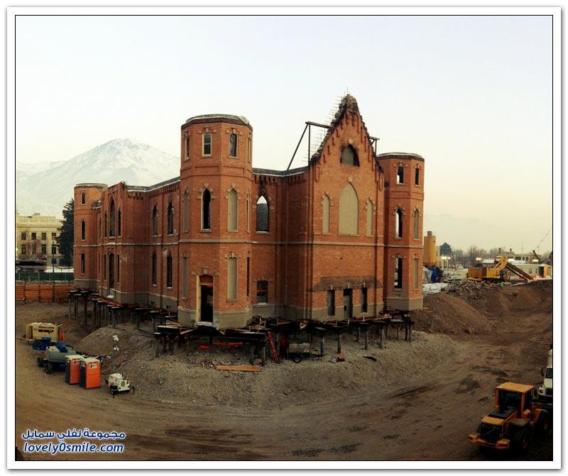 طريقة الحفاظ على المباني الأثرية في أمريكا