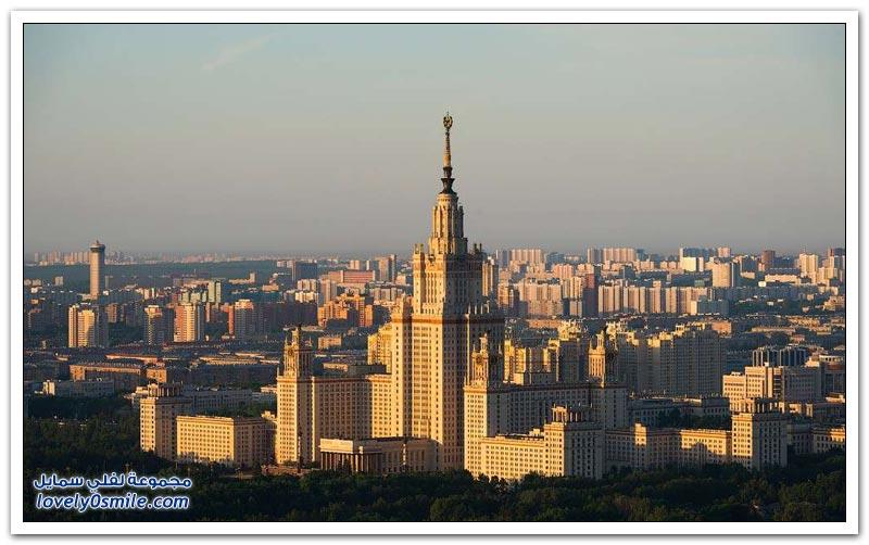 جولة في مدينة موسكو