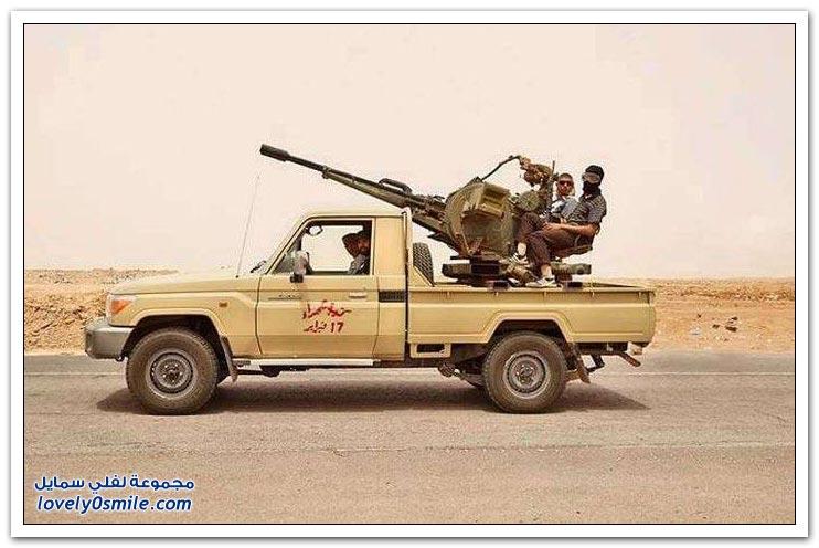 مدرعات وأسلحة محلية الصنع