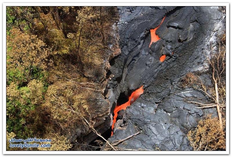 ثوران بركان كيلاوى فى جزر هاواى
