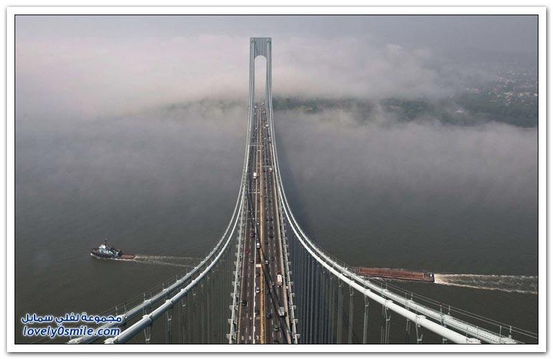 أطول الجسور المعلقة في العالم