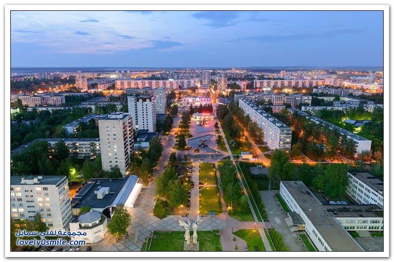 جولة في مدينة نابريجنيي تشلني في جمهورية تتارستان