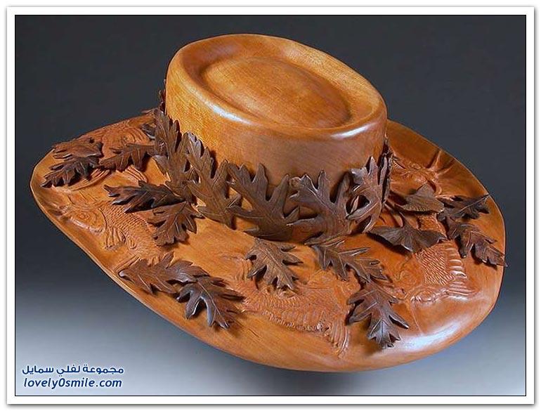 منحوتات رائعة من الخشب