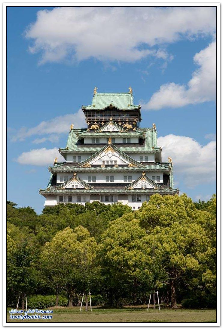 القلاع والمعابد في اليابان