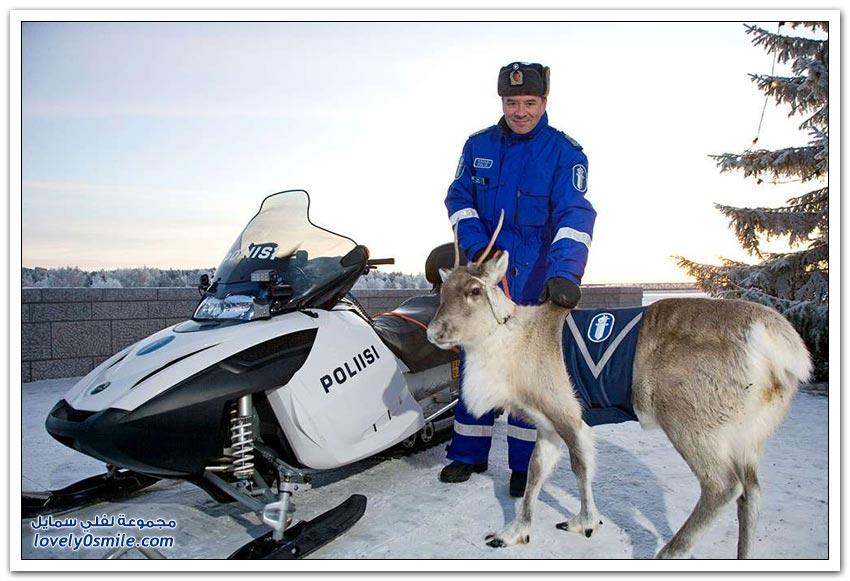 الشرطة في بعض دول العالم