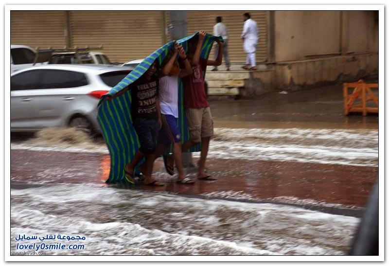 أمطار جدة.. ناقوس خطر