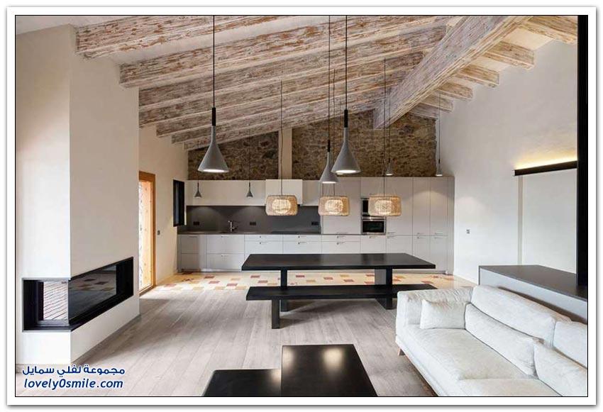 ترميم منزل في قرية ريفية في إسبانيا