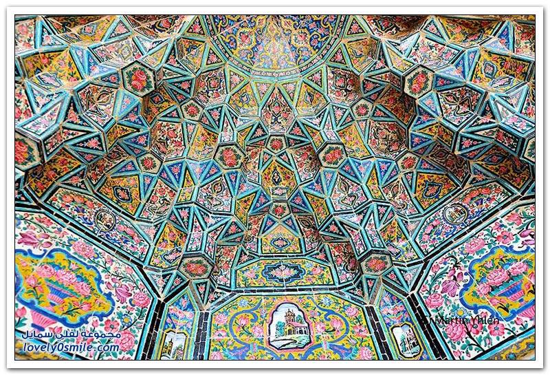 أسقف المساجد الإيرانية