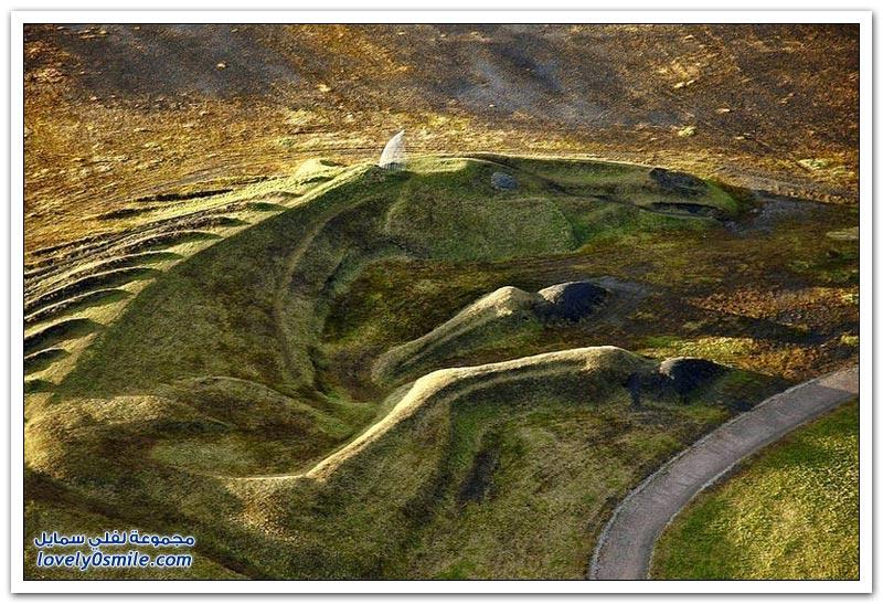 أكبر منحوتة في بريطانيا.. رمز لحرية المهور