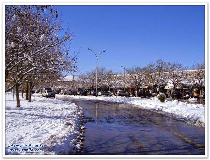 مدينة إفران سويسرا المغربية