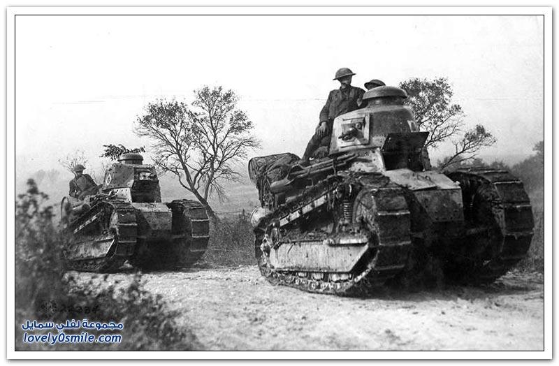 مُعدات القتال في الربع الأول من القرن العشرين
