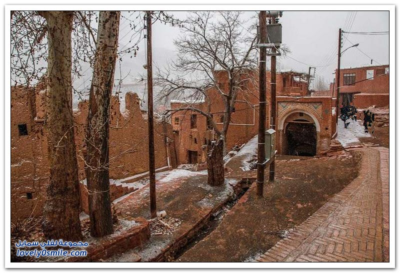 قرية أبيانة التاريخية قرب مدينة أصفهان