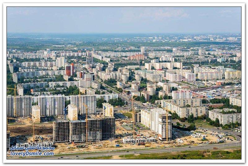 مدينة تشيليابينسك الروسية