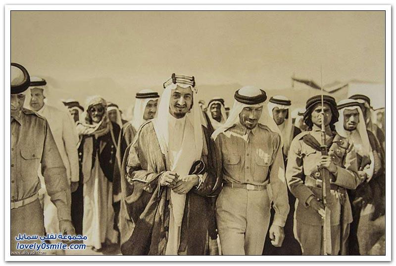 أول تدريب في تاريخ الجيش السعودي
