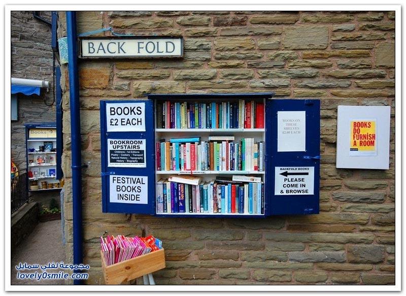 أكبر سوق للكتب القديمة تقام في مقاطعة ويلز