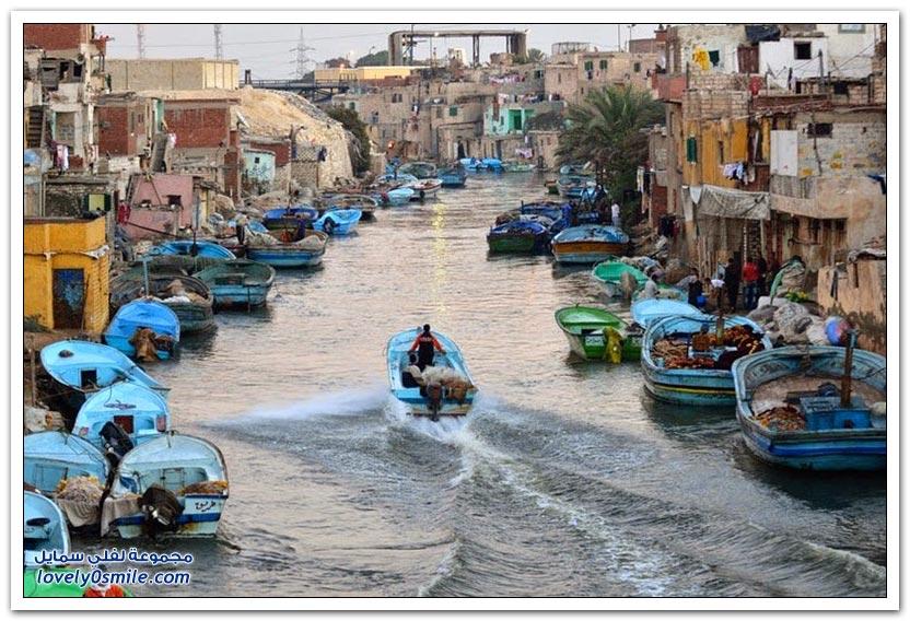قرية الصيادين في الإسكندرية