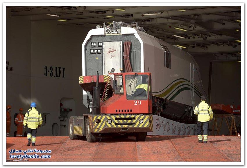 قطار الحرمين يستعد للانطلاق
